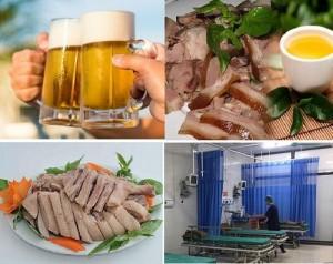 Ngộ độc do nghi ngờ uống bia với những loại thịt quen thuộc này