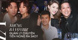 Soi chuyện tiền nong của các cặp sao Vbiz: Trấn Thành 'có lương' 5 triệu/ngày, Công Vinh - Trường Giang lại ngược hẳn?