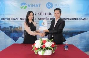 BIT Group và VIHAT sẽ giúp 500.000 doanh nghiệp chuyển đổi số