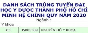 Đặt tên con là Nguyễn Đỗ Y Khoa, bố mẹ nhận lại điều bất ngờ khi cậu bé tròn 18 tuổi