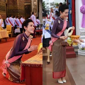 Hoàng quý phi vừa được phục chức quỳ gối trước Hoàng hậu Thái Lan, thái độ mềm mỏng khiến dân chúng bất ngờ