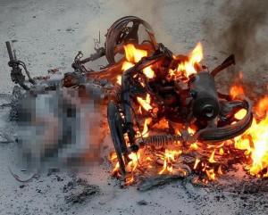 Nguyên nhân hàng đầu khiến xe máy dễ cháy nổ bất thình lình