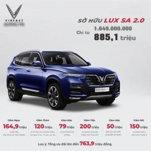 Sự thật mức giảm giá 'sốc' 800 triệu đồng của xe ô tô VinFast