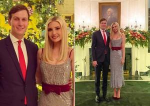 Ái nữ Tổng thống Trump đứng bên cạnh chồng khiến fan mê mẩn vì quá đẹp đôi