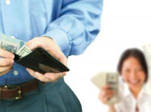 Quy định về lương của chồng chuyển thẳng vào tài khoản vợ