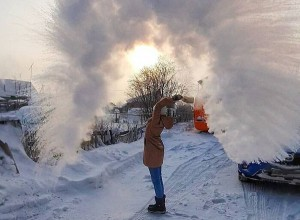 Lạnh kỉ lục âm 40 độ, nước Nga những ngày này ra sao?