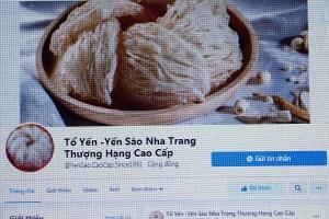 Yến Sào Khánh Hòa đang bị làm giả, bán tràn lan trên mạng xã hội?