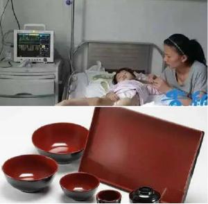 Bé gái mắc ung thư máu do thường xuyên sử dụng bát nhựa giả sứ