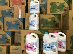 Sản xuất nước giặt, nước rửa chén bát và tinh dầu thơm giả mạo nhãn hiệu D-nee