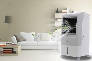 Cẩn trọng khi sử dụng quạt điều hòa ngày nắng nóng