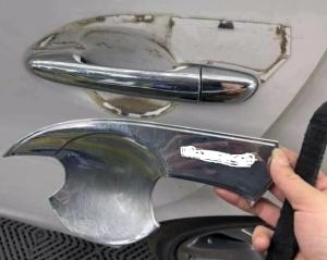 Tai hại khi dùng ốp trang trí cho ô tô giá rẻ