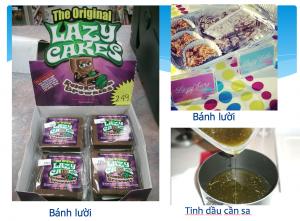 Bánh kẹo tẩm cần sa hiểm họa khó lường cho giới trẻ