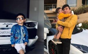 Con trai 4 tuổi của Đan Trường: Nói 4 thứ tiếng, ở nhà triệu đô, dùng hàng hiệu xa xỉ