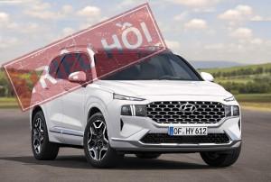 Dính lỗi rò rỉ xăng dầu, hàng loạt Hyundai Santa Fe 2021 bị triệu hồi tại Mỹ