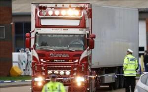 Tin mới nhất vụ 39 th.i th.ể trong xe tải ở Anh:Bị cáo người Romania sẽ phảibồi thường cho các gia đình nạn nhân