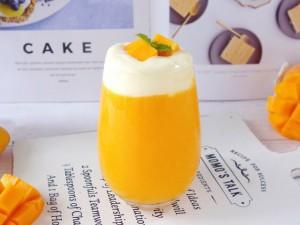 Trà xoài kem cheese sang chảnh hóa ra làm quá dễ - không có ship cũng tự xử được ngon ơ!
