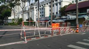 Cận cảnh đường phố TP HCM sáng nay 23-8: Kiểm soát chặt chẽ