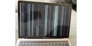 Nhiều MacBook nứt màn hình không rõ lý do khiến người dùng hoang mang