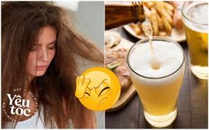 Ủ tóc bằng bia: Cách dưỡng tóc bóng mượt đơn giản nhưng có tới 90% chị em làm sai