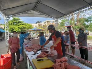 Vụ giao thịt thối cho người dân: Ngưng cung ứng thực phẩm đến các phường của công ty Hai Thuyên
