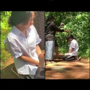 Nữ sinh lớp 7 ở Hà Tĩnh bị bắt quỳ gối, đ.ánh đến chảy m.áu mũi