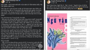 Phạt 7,5 triệu vẫn cố tình đưa tin về địa long, Angela Phương Trinh đang thách thức dư luận, coi thường pháp luật?