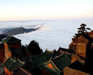 Mê mẩn phong cảnh thần tiên trên núi Võ Đang