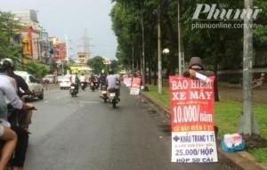 """Giải mã bảo hiểm xe máy giá """"siêu rẻ"""" ở Sài Gòn"""