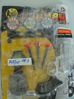 Bộ đồ chơi cảnh sát chứa hàng loạt hóa chất độc hại