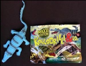 Đồ chơi nhựa hình cá sấu chứa độc tố lớn