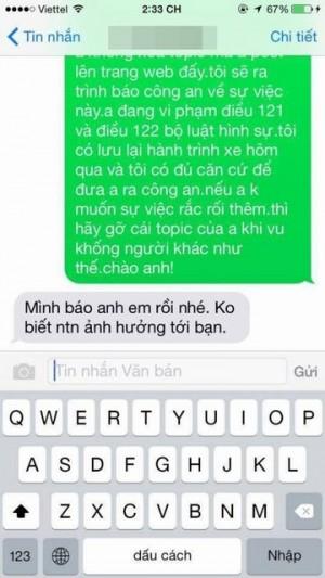 Khách nữ tố tài xế đưa SĐT lên web 'đen', GĐ Uber Việt Nam nói gì?