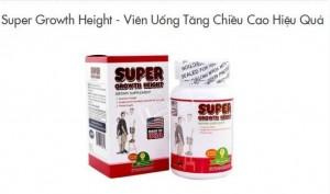 Thực hư TPCN Super Growth Height có tác dụng làm tăng chiều cao