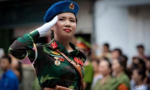 Trung tướng Võ Văn Tuấn lý giải quân hàm trung tá của nữ thiếu úy xinh đẹp