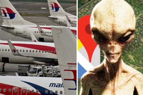 MH370: Tin nhắn bí ẩn hé lộ bàn tay người ngoài hành tinh dàn dựng?