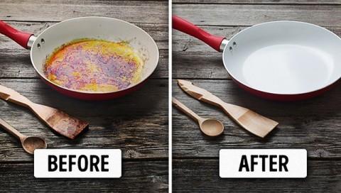 5 cách làm sạch vết bẩn ở xoong, nồi từ những nguyên liệu rẻ tiền sẵn có trong bếp