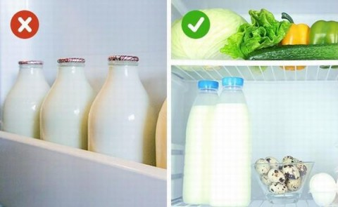 Thói quen bảo quản sữa trong tủ lạnh sai lầm hầu như mẹ nào cũng mắc