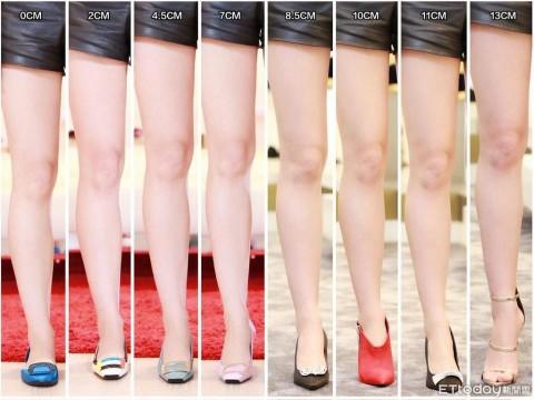 Giày càng cao, chân càng đẹp nhưng thực tế đây mới là chiều cao chuẩn nhất giúp bạn có đôi chân nuột nà