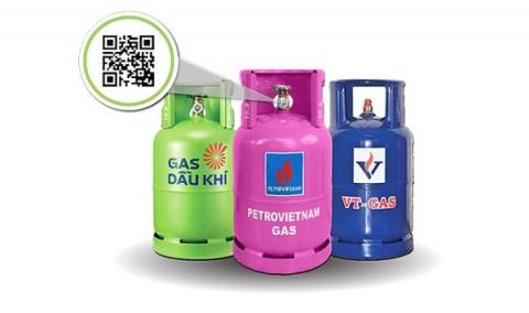 QR Code - công cụ lật tẩy chiêu trò gian lận thương mại trên thị trường gas