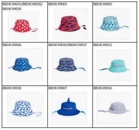 Mũ chống nắng cho bé Joe Fresh có tiềm ẩn nguy cơ nghẹt thở