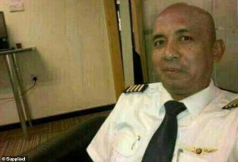 Sự thật gây sốc về cơ trưởng lái máy bay MH370 mất tích cách đây 5 năm