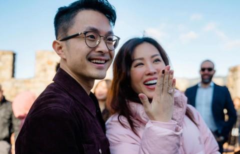 Hoa hậu Thu Hoài ký hợp đồng hôn nhân với chồng trẻ kém 10 tuổi sắp cưới