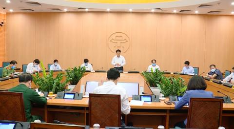 Từ 0h ngày 28/3, Hà Nội chính thức áp dụng nhiều biện pháp mạnh trong đợt dịch COVID-19 cao điểm