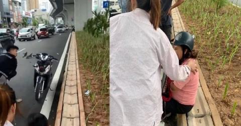 Thông tin ngỡ ngàng về kẻ dùng gậy sắt đập phá xe máy người bênh vực 'bà bầu' do va chạm giao thông