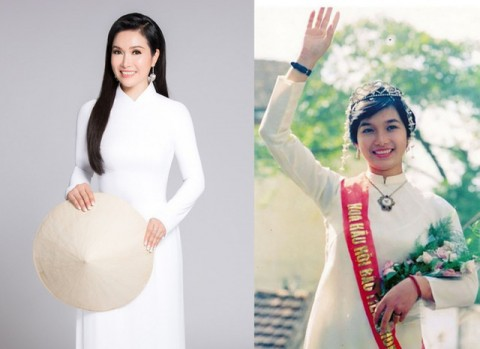 Hoa hậu Việt Nam danh giá đầu tiên và vai diễn hi hữu thời tivi đen trắng
