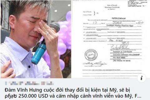 Đàm Vĩnh Hưng bị đồn cấm nhập cảnh Mỹ do ồn ào ly hôn và từ thiện, luật sư phân tích cơ sở pháp lý