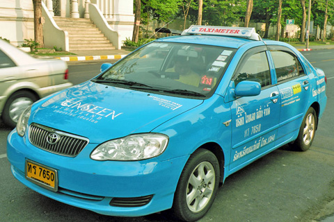 Kinh nghiệm đi taxi ở Bangkok như người Thái