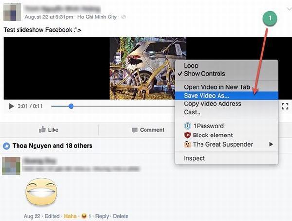 Cách tải video Facebook trên mọi thiết bị