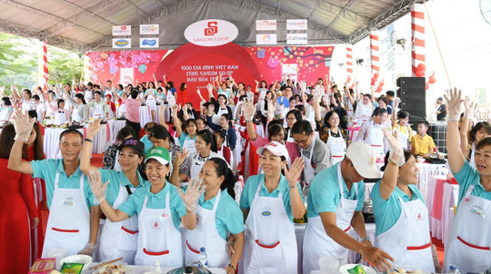 1.000 gia đình cùng Saigon Co.op nấu bữa Tết ngon - Ảnh 3.