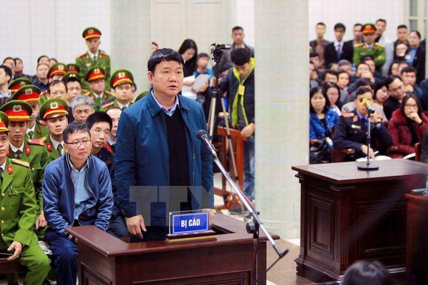 Ngày đầu xét xử ông Đinh La Thăng, Trịnh Xuân Thanh và đồng phạm, các bị cáo đều nói