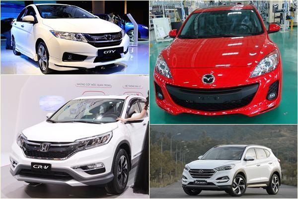 Top những mẫu ô tô đang 'gây bão' thị trường Việt, sự lựa chọn phù hợp nhất